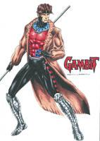 Gambit - Remy Etienne LeBeau by kiborgalexic