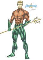 Aquaman - Arthur Curry Orin by kiborgalexic