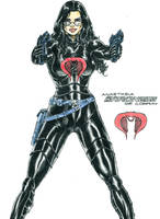 Baroness (G.I. Joe) by kiborgalexic