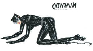 Catwoman - Selina Kyle by kiborgalexic