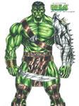 Gladiator Hulk by kiborgalexic