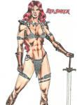 Red Sonya by kiborgalexic