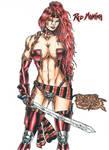 Red Monica by kiborgalexic