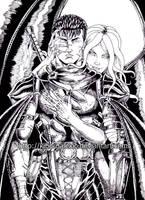 Guts and Slan by kiborgalexic