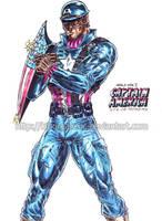 WW2 Captain America by kiborgalexic