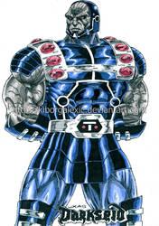 Darkseid-Justice League Unlimited by kiborgalexic
