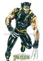 Ultimate Wolverine by kiborgalexic