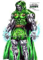 Doctor Doom Ultimate Alliance by kiborgalexic