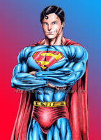 Superman by kiborgalexic