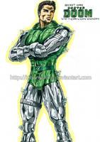 Doctor Doom Secret Wars by kiborgalexic