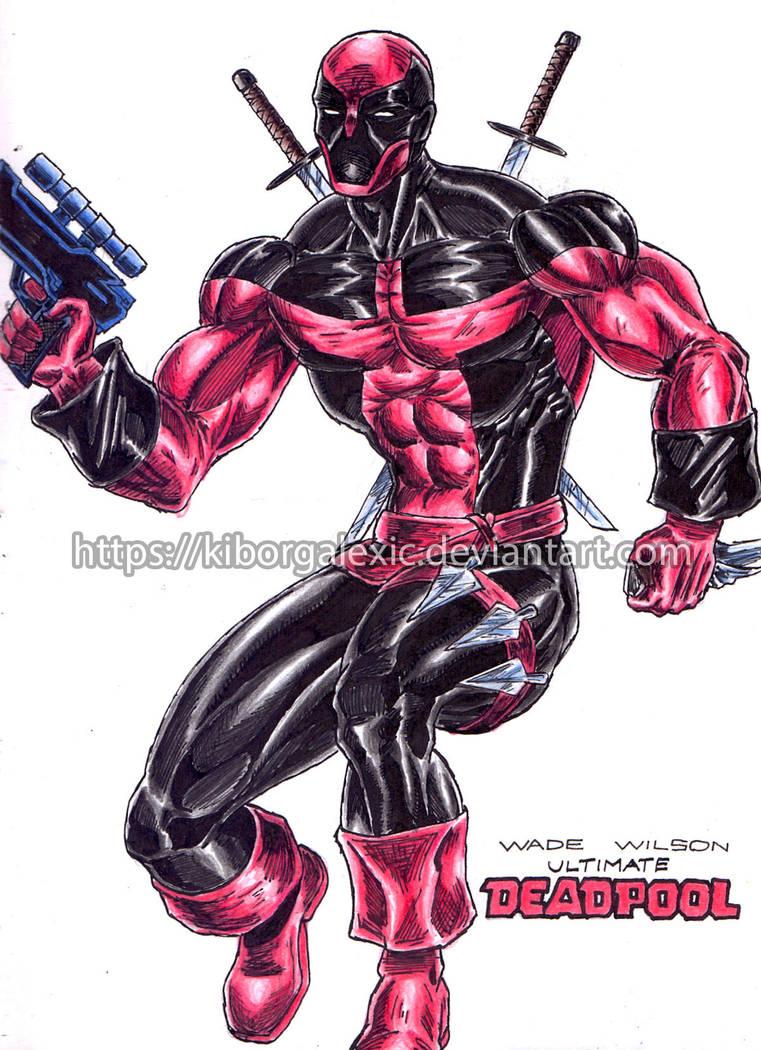 Ultimate Deadpool by kiborgalexic