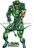 Green Arrow by kiborgalexic
