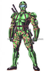 Master Sergeant-commission by kiborgalexic