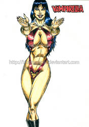 Vampirella by kiborgalexic