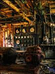 Filtration room urbex by XpiecemealX