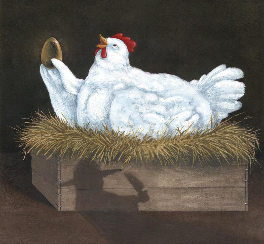 La poule aux oeufs d'or by gillendil