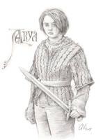 Game of Thrones - Arya Stark by gillendil
