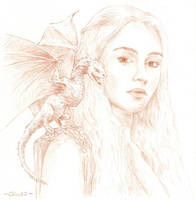 Game of Thrones - Daenerys by gillendil