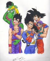 DBZ Families by Ear-Tweak