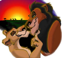 Zira and Scar Finished by Sulka