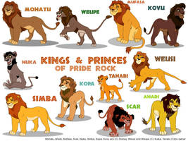 Kings and Princes of Priderock by Sulka