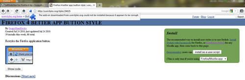 Firefox Error Add-On by freethinker0228