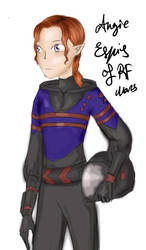 Angie Espis of RF Mars by HollyShort1408