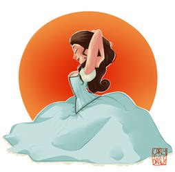 Belle by carlymaedraws