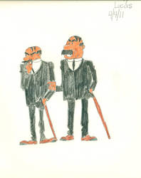 Thomson and Thompson by lukio5000