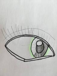 Green Eye by zoroarkultramoon