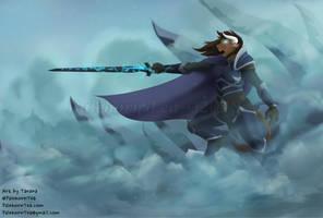 Death Knight Taeana by PalehornTea