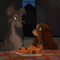 Lady and the Tramp by Taivus