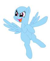 Flying Pegasus BASE by BlizzardIceFox