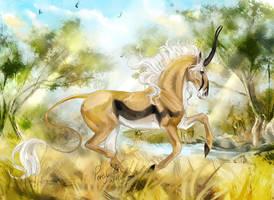 Gazelle by Percyvelle