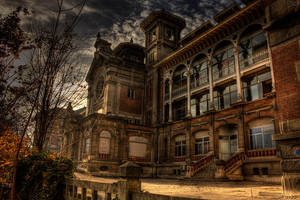 Hospital facade by John-Genova
