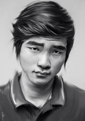Portrait of Faker by aLi2k4