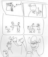 richard pee concept storyboard by jesseaaah