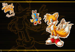 Tails Wallpaper by Psychograve