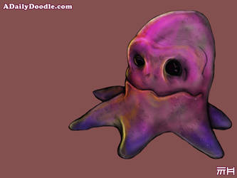 Ocotopus Creature by yellowbouncyball