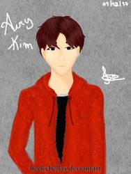 Korean guy. by BeckyBellas
