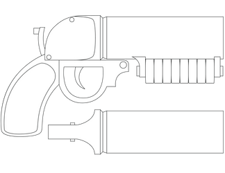 Team Fortress 2 Scorch Shot Diagram by SUBJECT-241