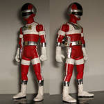 custom 7.5 inch red-one from bioman by jhonny-caylao