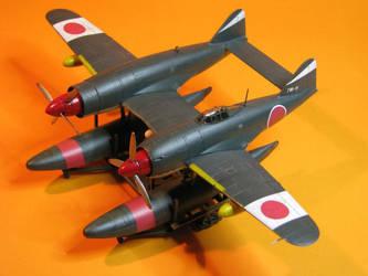 Kawanishi N1K1/2 by Brandzai