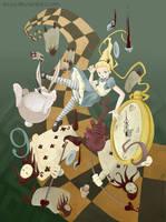 Falling Alice by Ecija