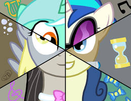 Background Mane6 by The-Kinetic