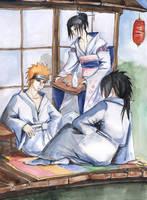 Madara Itachi Pain by NakagoinKuto