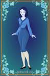 Blue Chinese Girl by Jayko-15