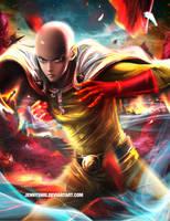 One Punch Man - Saitama by jennyshiii