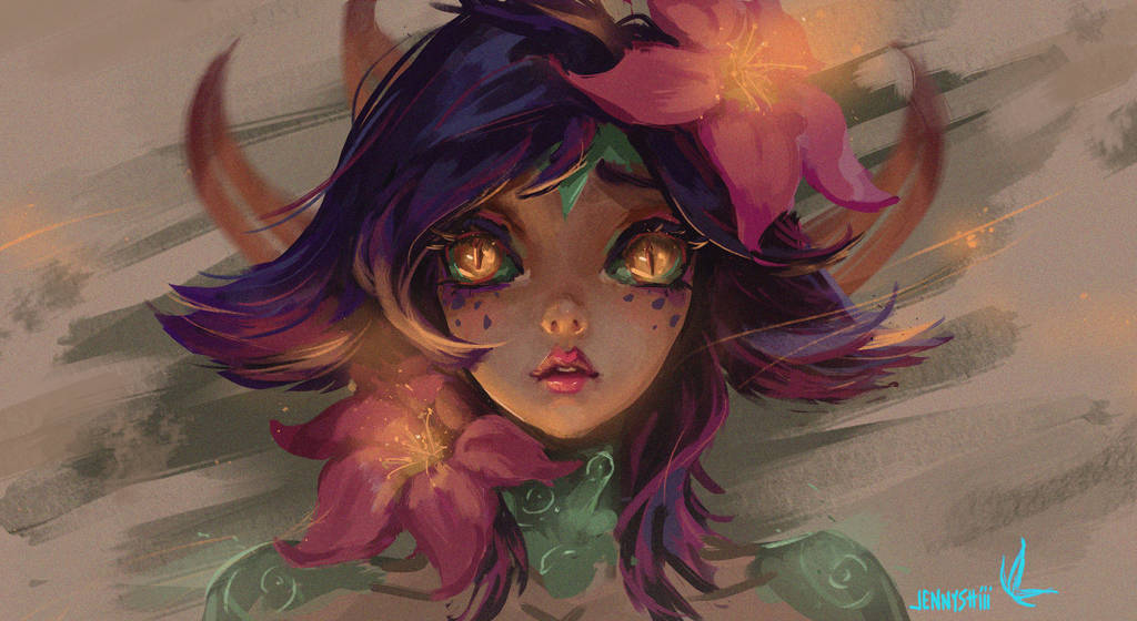 Neeko from League of Legends by jennyshiii