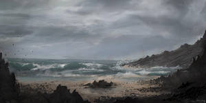The Beach by parkurtommo